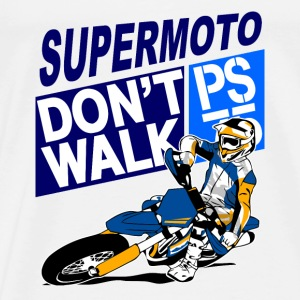 Supermoto Racing Sports wear - Men's Premium T-Shirt
