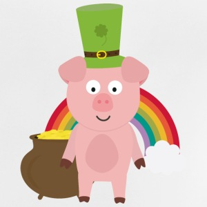 Pork with Patrick's day Hat Shirts - Baby T-Shirt