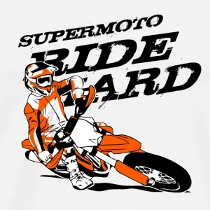 Supermoto Racing Sous-vêtements - T-shirt Premium Homme