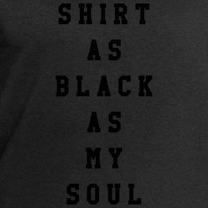 Shirt as black as my soul T-shirts - Mannen sweatshirt van Stanley & Stella