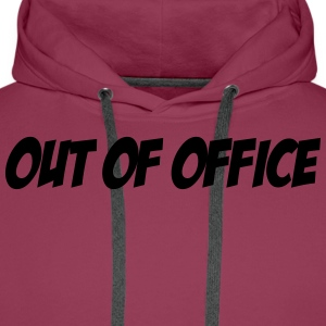 Out of Office T-shirts - Men's Premium Hoodie