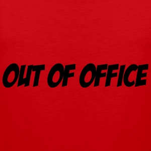 Out of Office T-shirts - Men's Premium Tank Top