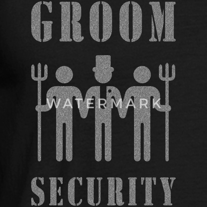 Groom Security (Bachelor Party / Stag Night) T-Shirts - Men's T-Shirt