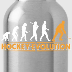 Hockey Evolution - orange/weiss T-Shirts - Trinkflasche