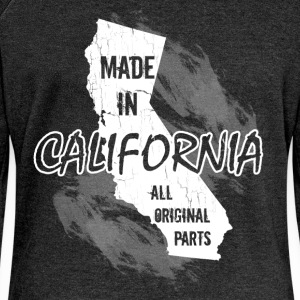 Made in California all original parts  - Women's Boat Neck Long Sleeve Top