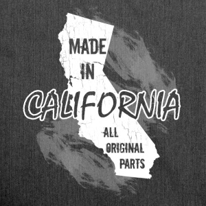 Made in California all original parts  - Shoulder Bag made from recycled material