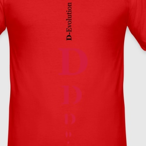D Name - Männer Slim Fit T-Shirt