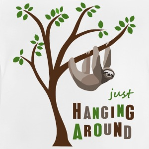 Faultier hanging around - Baby T-Shirt