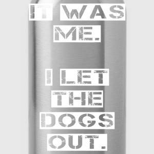 I have let the dogs Baby Long Sleeve Shirts - Water Bottle
