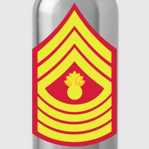 Master Gunnery Sergeant MGySgt, Mision Militar ™ T-Shirts - Trinkflasche