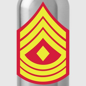 First Sergeant 1stSgt, Mision Militar ™ T-Shirts - Trinkflasche