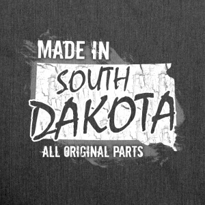 Made in South Dakota all original parts  - Shoulder Bag made from recycled material