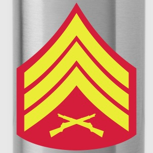 Sergeant SSgt, Mision Militar ™ T-Shirts - Trinkflasche