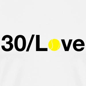 30/Love Tops - Men's Premium T-Shirt
