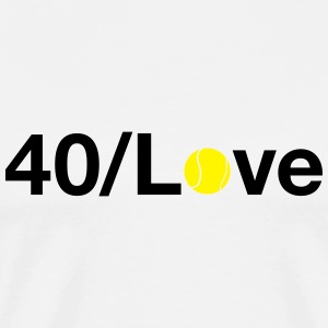 40/Love Tops - Men's Premium T-Shirt