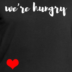 We are hungry Long Sleeve Shirts - Men's Sweatshirt by Stanley & Stella