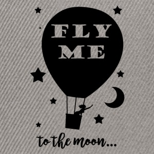 Fly me to the moon - Casquette snapback