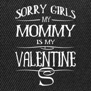 MOM is my Valentine Long Sleeve Shirts - Snapback Cap