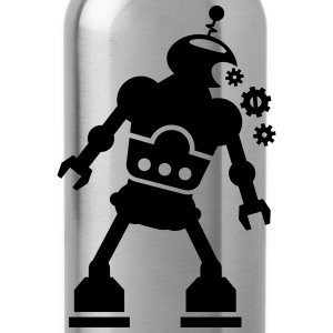 robot T-Shirts - Water Bottle