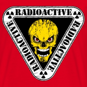 radioactive skull Sweat-shirts - T-shirt Homme