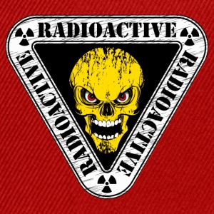 radioactive skull Sweat-shirts - Casquette snapback