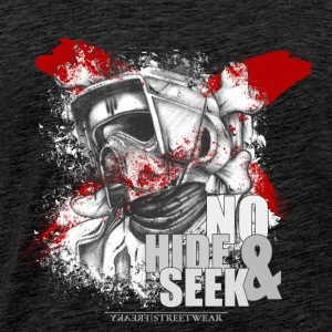 No Hide & Seek Toppar - Premium-T-shirt herr