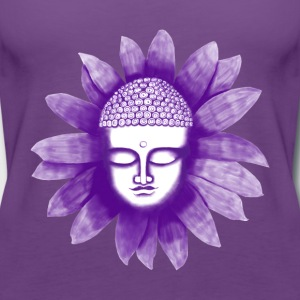 Buddha Flower - Frauen Premium Tank Top