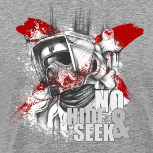 No Hide & Seek Long sleeve shirts - Men's Premium T-Shirt