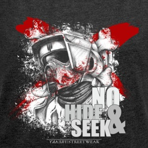 No Hide & Seek Hoodies & Sweatshirts - Women's T-shirt with rolled up sleeves
