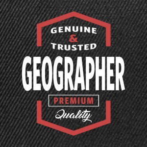 Geographer | Gift Ideas - Snapback Cap