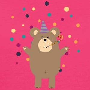 Party Brown bear Borse & Zaini - T-shirt ecologica da donna