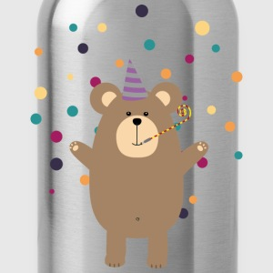 Party Brown bear Tee shirts - Gourde