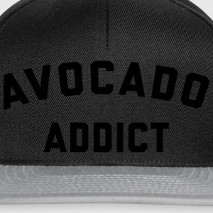 Avocado Addict Funny Quote Forklæder - Snapback Cap