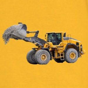 wheel loader Top - Maglietta da uomo