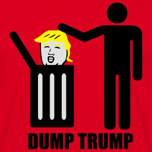 Dump Trump  Aprons - Men's T-Shirt