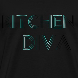 Kitchen  Neon Blue Tops - Männer Premium T-Shirt
