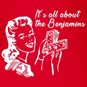 All about the Benjamins Langarmshirts - Baby Bio-Kurzarm-Body