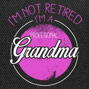 I'm not in the Raj, I am a professional grandmother Long Sleeve Shirts - Snapback Cap