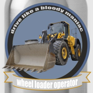 wheel loader operator T-Shirts - Water Bottle