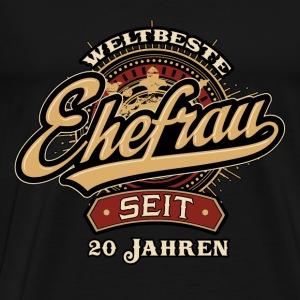 suchbegriff 20 hochzeitstag t shirts spreadshirt. Black Bedroom Furniture Sets. Home Design Ideas