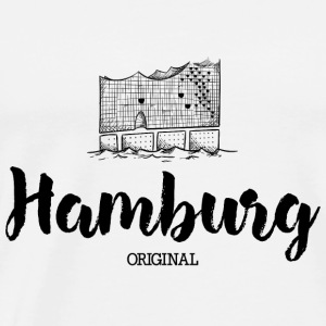 Hamburg Elbe Bags & Backpacks - Men's Premium T-Shirt