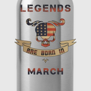 Legenden March US T-Shirts - Trinkflasche