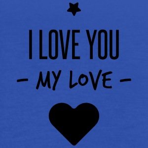 i love you my love Paraplyer - Dame tanktop fra Bella