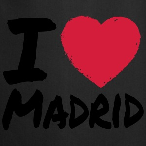I Love Madrid Camisetas - Delantal de cocina
