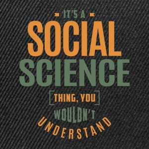 Social Science Thing - Snapback Cap