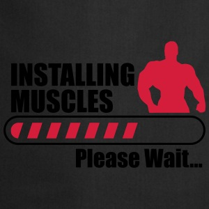 Instaling muscles - Funny gym  - Cooking Apron