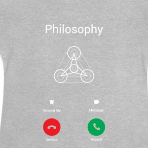 The philosophy calls Long Sleeve Shirts - Baby T-Shirt