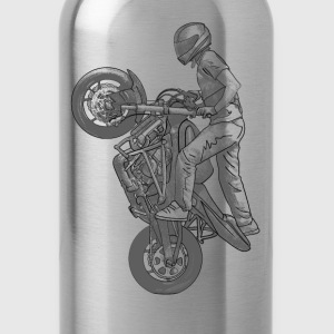Stunt riding Shirts - Water Bottle