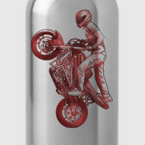 Stunt riding T-Shirts - Water Bottle