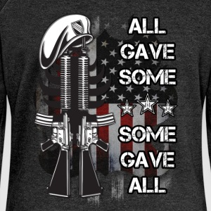 All gave some, some gave all - Women's Boat Neck Long Sleeve Top